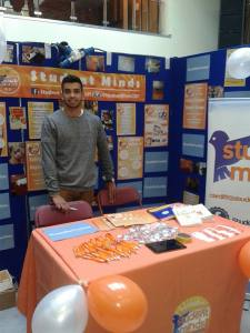 Cardiff Student Minds Freshers' Fayre Stall